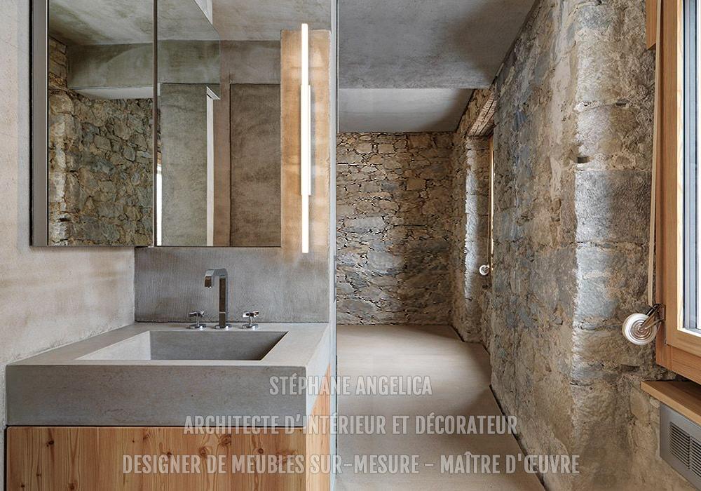 Architecte d\'intérieur - Travaux rénovation - Salle de bain ...