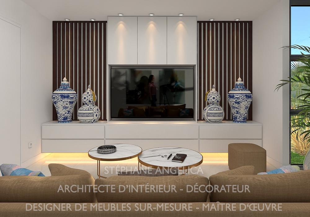 Devis Meuble Cheminée TV Sur Mesure ...